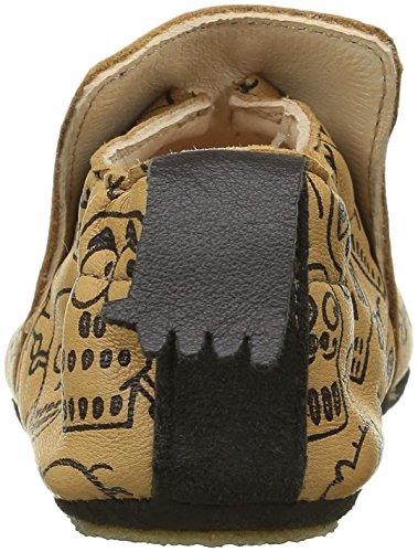 Easy Peasy Blublu Pirate, Chaussures Bébé quatre pattes (1-10 mois) bébé garçon Beige (oxi/noir)