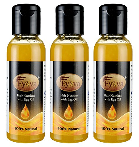 EYOVA- Egg Oil For Hair Growth -Man & Woman Pack Of 3 (3 x 50 ML)