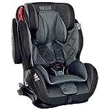 LCP Kids Auto Kindersitz 9-36 kg Isofix GT Comfort - Liegefunktion - verstellbare Kopfstütze Gr. 1 2 3; Schwarz