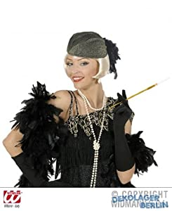 widmann-wdm2550l disfraz Adulto para mujer, Oro Plata, wdm2550l