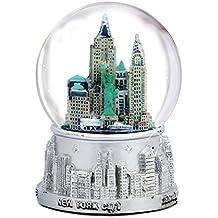 De Nueva York plateado Color bola de nieve 65 mm 821bcb52f34a3