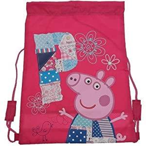 Peppa Pig Patchwork – Mochila Blanda con diseño de Peppa Pig