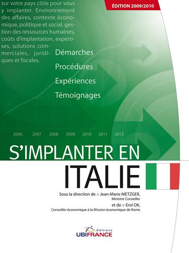 S'implanter en Italie par Metzger