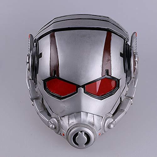VAWAA Ant Man Maschera Antman Kostüm Resina Ant-Mann Helm PVC Cosplay Maschera Di Halloween Mascaras Maschere Batman Iron Man Helm