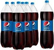 Pepsi, Carbonated Soft Drink, Plastic Bottle, 2.25 Litre x 6