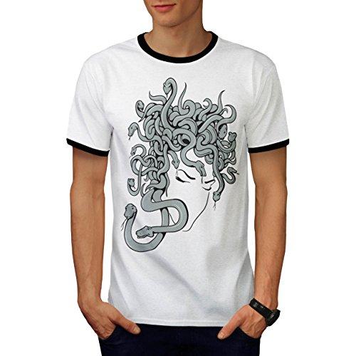 nst Fantasie Angst Faktor Herren S Ringer T-shirt | Wellcoda (Faktor Angst-spiele Für Halloween)