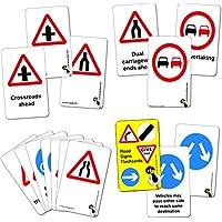 Wildgoose Education Road Sign Flashcards - Warning and Regulatory Set