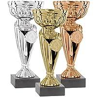 DEPICE Trofeo Serie, Oro, Plata, Bronce, 19cm, TRO de FS de 1571L