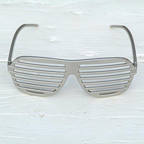 Freak Scene® Partybrille ° Fun Brille ° Modell: Shutter Shades