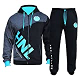A2Z 4 Kids® Girls Designer's Tracksuit HNL Zipped Top Bottom Kids Jogging Suit Hoodie Bottom Joggers Age 7 8 9 10 11 12 13 Years