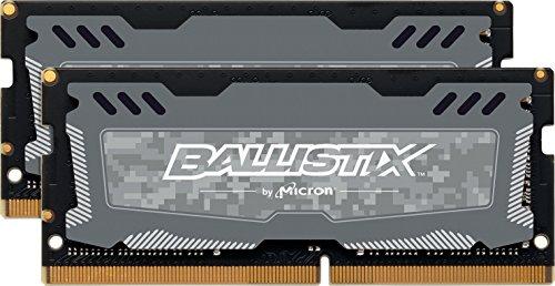 Price comparison product image CRUCIAL TECHNOLOGY BLS2C4G4S26BFSD Ballistix Sport LT - DDR4 - 8 GB: 2 x 4 GB - SO-DIMM 260-pin - 2666 MHz / PC4-21300 - CL16 - 1.2 V - unbuffered - non-ECC - (Components > Memory)