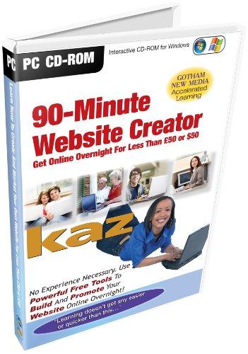 Preisvergleich Produktbild Kaz - 90 Min Website Creator (PC CD)