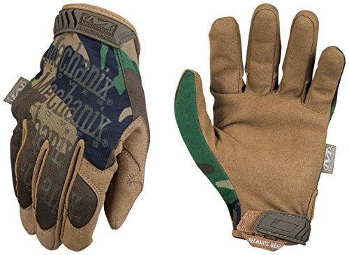 Woodland Camo (Mechanix Wear ORIGINAL Gloves WOODLAND CAMO (TAN) LARGE (10))
