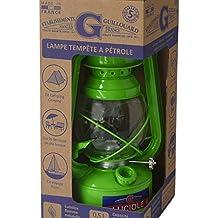 Lámpara Tempestad de petróleo Luciole–verde
