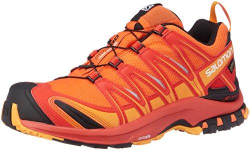 Salomon Herren Xa Pro 3D GTX Traillaufschuhe, Mehrfarbig (Scarlet Ibis/Fiery Red/Bright Marig 000), 44 2/3 - Männer Running Schuhe Für