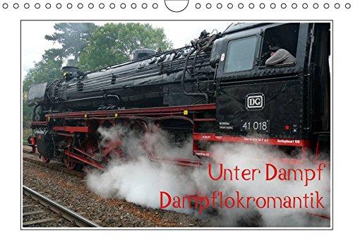 Unter Dampf - Dampflokromantik (Wandkalender 2019 DIN A4 quer)
