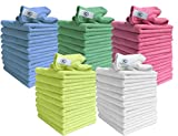 Microfibre Cloths Similar to Exel Magic Cleaning Cloths. Chemical Free Cleaning. Large Super Soft Premium Fibre, Washable Cloth Duster for Car, Motorbike, Domestic Appliances, Industrial use