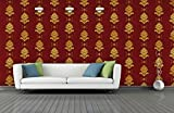 #8: BDPP Washable Vinyl Coated Imported Mettalic Wallpaper-W589(Covers approximately 50 square. Feet.)
