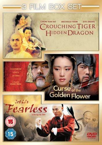 Bild von Curse Of The Golden Flower/Fearless/Crouching Tiger, Hidden... [DVD] by Yun-Fat Chow