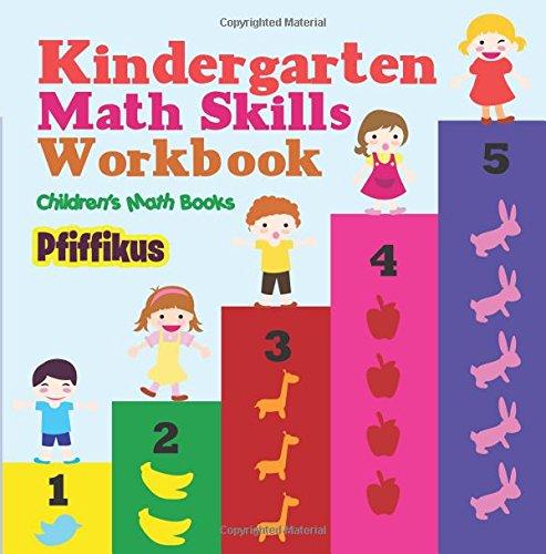 Kindergarten Math Skills Workbook   Children's Math Books