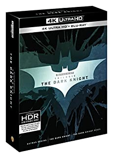 The Dark Knight - La Trilogie - Blu-Ray 4K + Blu-Ray [4K Ultra HD + Blu-ray] (B0746Y4F6W) | Amazon price tracker / tracking, Amazon price history charts, Amazon price watches, Amazon price drop alerts