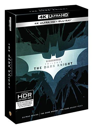 Coffret trilogie the dark knight batman begins ; the dark knight ; the dark knight rises 4k ultra hd