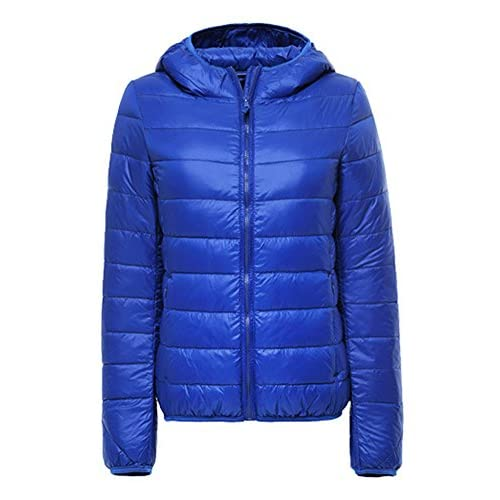 51YCNxFqlVL. SS500  - Womens/Ladies Ultra Lightweight Packable Short Down Puffer Jacket Hooded Jackets