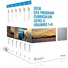 Cfa Program Curriculum 2018 Level II, Volumes 1 - 6 Box Set (Cfa Curriculum 2018)