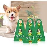 Pooper Scooper, GVDV Hundekotbeutel Einteilig und Portabel Einwegkotschaufel, biologisch abbaubare, tropfsichere Hundetüten insgesamt 12 Stück für Haustierabfälle