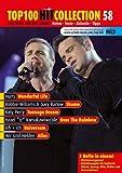 Top 100 Hit Collection 58: 6 Chart-Hits: Over The Rainbow - Wonderful Life - Shame - Teenage Dream - Universum - Alles. Noten für Klavier und Keyboard