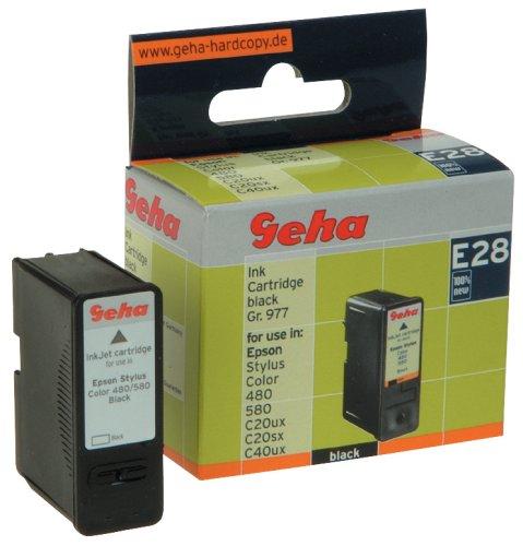 Geha Tintenpatrone für Epson Stylus Color 480, 580, C20ux, C20sx, C40ux, Inhalt 14,2 ml, Gruppe...