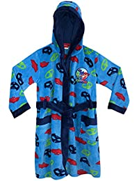 PJ MASKS Boys Owlette Gekko Catboy Dressing Gown Ages 3 to 10 Years