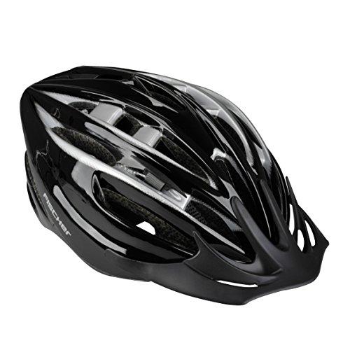 Fischer Fahrradhelm Black Pearl, Schwarz, L, 86179