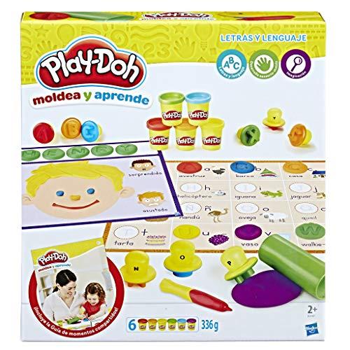 Play-Doh Aprende Letras y lenguajes, Multicolor (Hasbro B3407105)