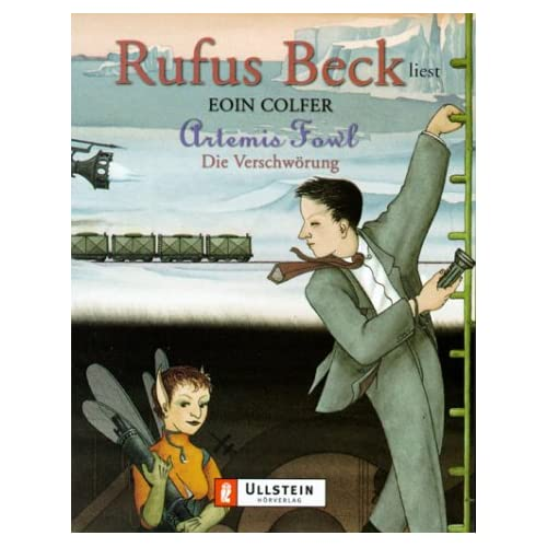 Artemis Fowl, Die Verschwörung, 3 Cassetten (Livre en allemand)