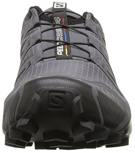 Salomon Herren Speedcross 4 Wanderschuhe Mehrfarbig (Dark Cloud/black/pearl Grey)
