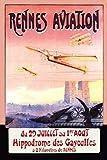 The Poster Corp F. Boursier - Rennes Aviation Kunstdruck