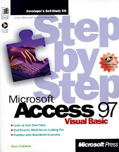 Microsoft Access 97 Visual Basic Step by Step (Step by Step (Microsoft)) by Callahan (1-Feb-1997) Paperback par Callahan