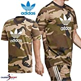 adidas, Herren-T-Shirt in Camouflage-Optik, Modellname: