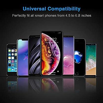 Handyhalterung-Auto-Schwerkraft-FLOVEME-Horizontal-Platziert-Handyhalter-frs-Auto-Lftung-Smartphone-Halterung-KFZ-fr-iPhone-11-Pro-XS-XR-X-8-Plus-7-Samsung-S10-S9-S8-S7-Note-8-9-Huawei-usw
