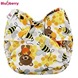 Blueberry Simplex Newborn (AIO) - Bears and the Bees - (coton biologique)