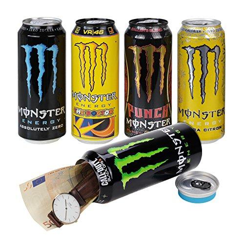 Dosensafe Dosentresor Geldversteck Monster Energy Drink, 16,0 x 6,5 cm