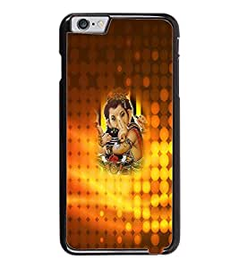PrintDhaba Lord Ganesha D-3401 Back Case Cover for APPLE IPHONE 6 (Multi-Coloured)