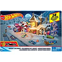 Hot Wheels - Calendrier de l'avent, FKF95, Multicolore