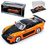 Mazda RX-7 FD3S Veilside 1991-2002 Han´s Fast and Furious 1/43 Greenlight Modell Auto