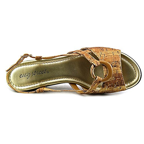 Easy Street Tempe Damen Schmal Cork Sandale Cork/Gold