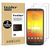 iVoler [Pack de 2] Verre Trempé pour Motorola Moto E5 / Motorola Moto G6 Play, Film Protection en Verre trempé écran Protecteur vitre