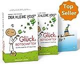 Der Kleine Yogi. Glücksbotschaften: Set mit Booklet und 40 Impulskarten (Glückskarten, Glück) - Barbara Liera Schauer