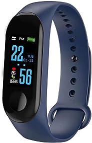 JIAMENG Fitness Tracker cardiofrequenzimetro Orologio da Polso smartwatch Donna Uomo Orologio Braccialetto Fitness Smart Watc