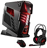 MSI Aegis Ti3 VR7RE SLI-005DE Gaming-PC inkl. MSI Gaming Pack (Intel Core i7-7700K, 2x Nvidia GeForce GTX1080 8GB - im SLI Verbund, 2 x 512GB SSD, 4 x 16 GB DDR4, Windows 10 Home) schwarz, High End, Wassergekühlt